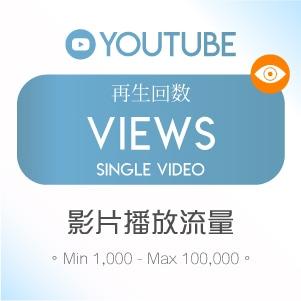 Youtube Views 影片播放