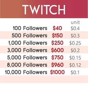 Twitch Followers