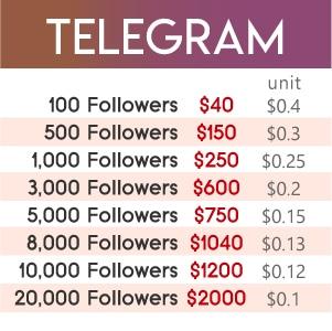 Telegram Channel/Group Members